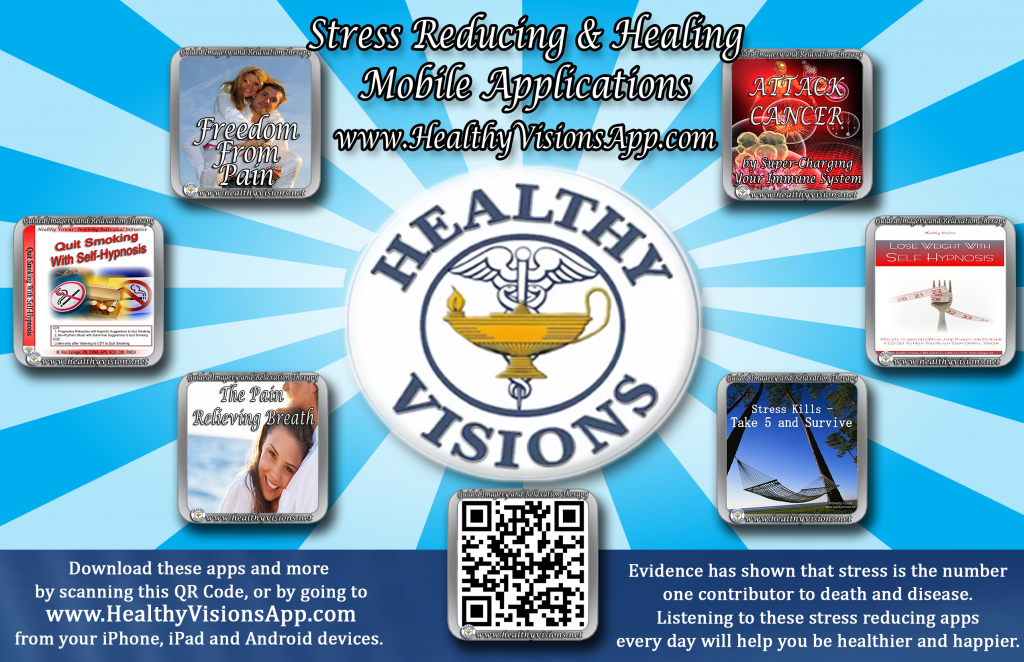 Download Stress reducing and healing mobile apps. The alternative to medicine.